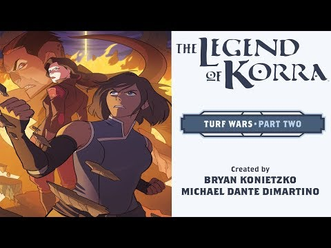 Korra - Turf Wars: Part 2 (FULL COMIC) (Motion Comic) (1080p/60FPS)