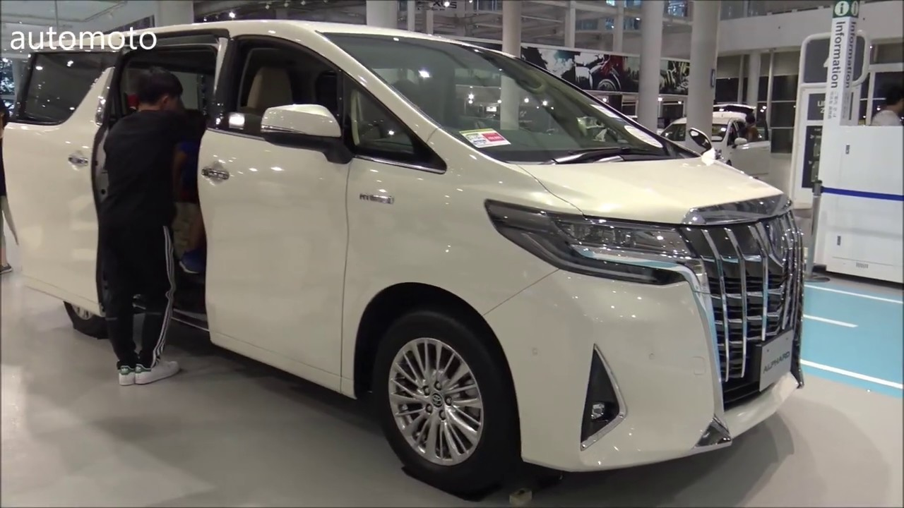 2020 Toyota Alphard Performance and New Engine
