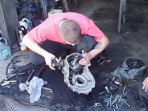 Vw Caddy 2010 Gearbox Repair