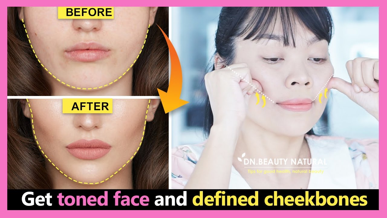 Cheekbones Lift Exercise | Get toned face & lose fat face | Make a defined face and cheekbones