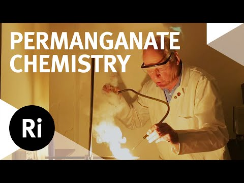 Science Experiments With Potassium Permanganate | Szydlo's At Home Science