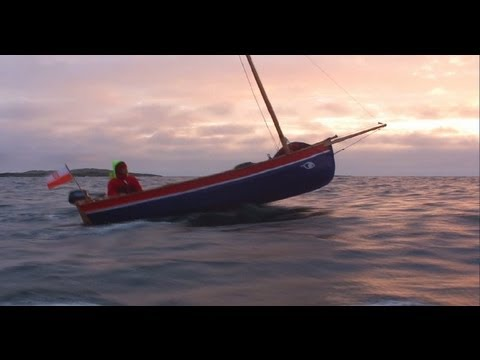 Dinghy Polar Expedition 2012 - open deck sailing in Norway (Viking / Gypsy style)