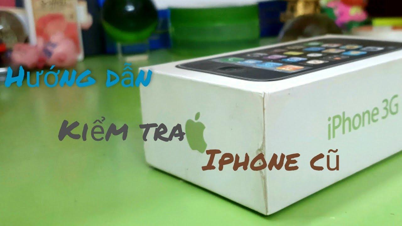 Download Hướng dẫn kiểm tra iPhone cũ trước khi mua bằng ứng dụng : Test M