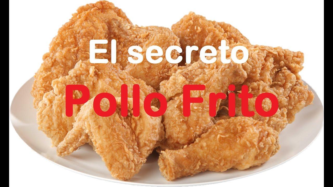 Pollo frito crujiente f cil el secreto youtube for Cocinar en 5 min
