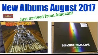 Unboxing New Vinyl LP's August 2017 (Just arrived)!