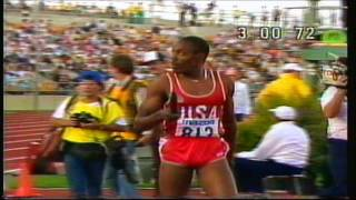 4x400m Relay - 1985 IAAF World Cup - Dramatic Finish