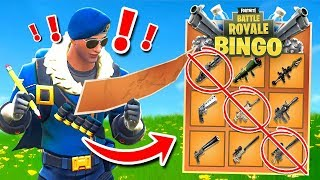 Legendary BINGO In Fortnite Battle Royale!