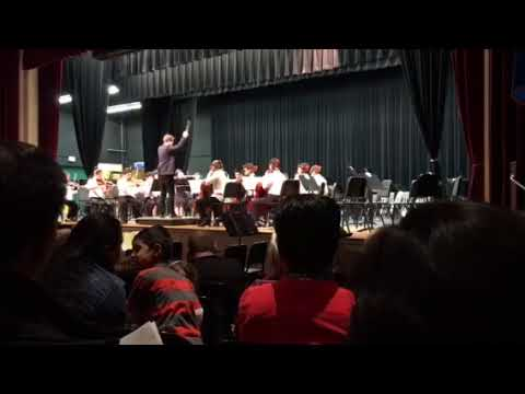East Lyme Middle School Chamber Orchestra performance( Bernstein)