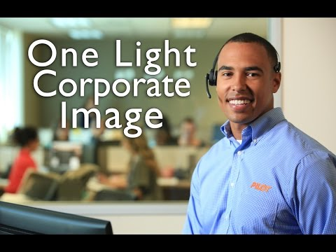 One Light Corporate Image - Photography Tutorial