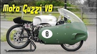 Moto Guzzi V8 - Абсолютная спортивная экзотика