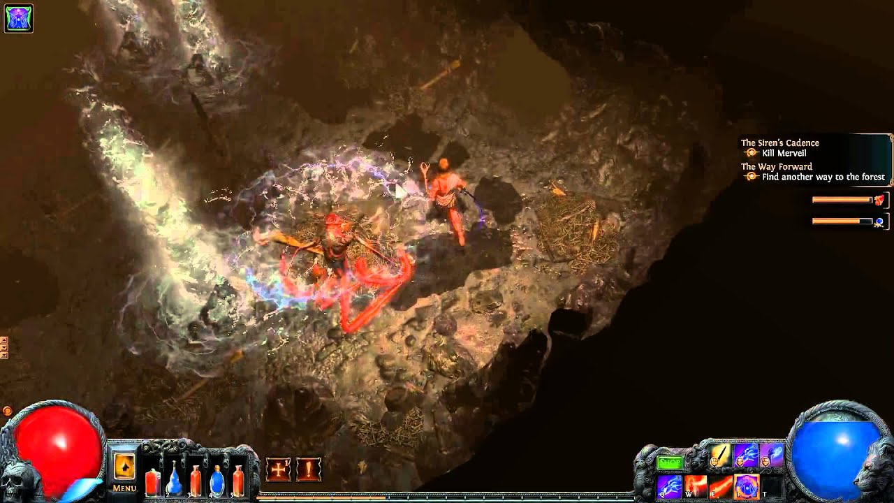 path of exile templar 11 merveil the siren youtube
