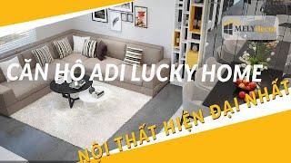 Thiết kế nội thất căn hộ Adi Lucky Home - 3 phòng ngủ - Bình Tân - Melydecor