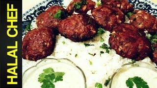 BEEF KEBAB RECIPE - Halal Chef