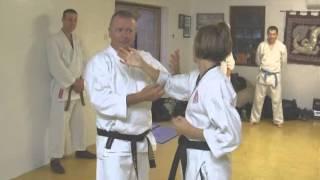 Tom Hill's Karate Dojo; Goju Kata Bunkai; Shisochin; Pointing assault defence