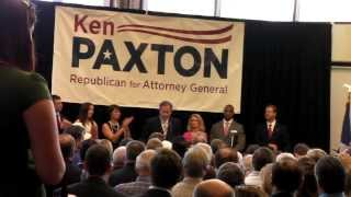 Ken Paxton announces for Texas Attorney General