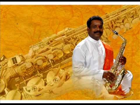 K Kumarasamy's saxophone instrument Estudena