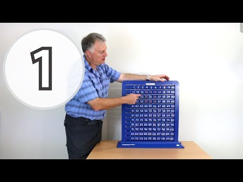 Turn and Learn Part 1 - Introducing the Turn and Learn Number Board