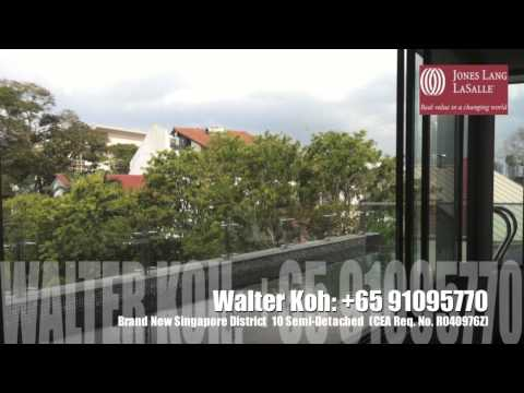 Sale - Brand New Semi Detached in Singapore Prime District (Holland, D10)