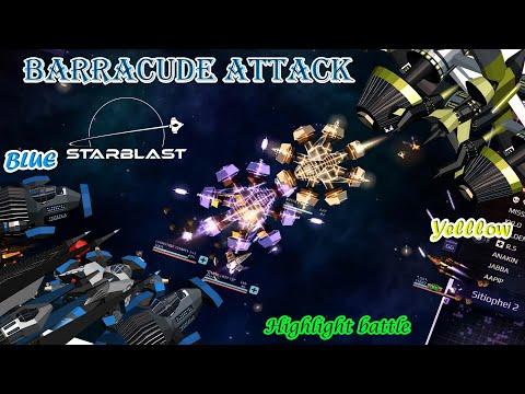 Starblast Io - Team Mode 35 (Barracuda Attack+ Tier 7 War) By Thien Vn