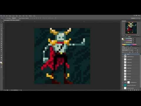 Tutorial de Pixel Art no Photoshop - Criação de Personagem ...