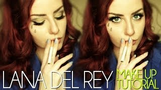 "Lana Del Rey ""Tropico"" MAKE UP Tutorial 