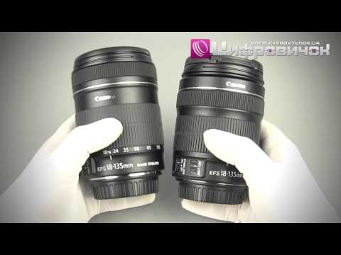 Видеообзор Canon EF-S 18-135mm f 3.5-5.6 IS и Canon EF-S 18-135mm f 3.5-5.6 IS STM