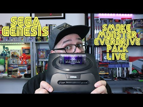 Sega Genesis - Mega Everdrive X5 SmokeMonster Pack - Homebrews & Hacks