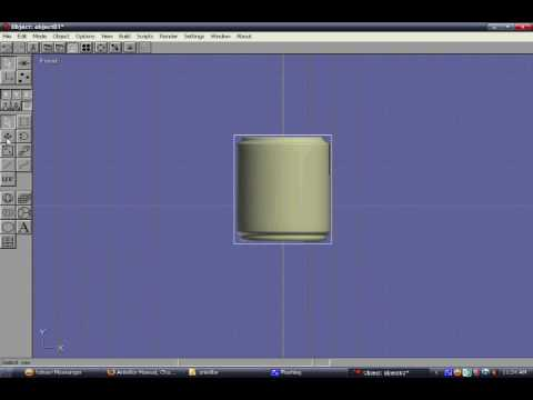 touch1a's second Anim8or tutorial: Using path & lathing
