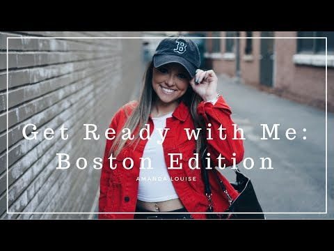 GET READY WITH ME: Boston Part 1 ll Amanda Louise