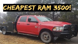 Cheapest 2012 Ram 3500 Cummins I\'ve bought  + Service truck setup