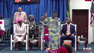 """""""POSITIONED FOR GREATNESS"""" @ Power of Faith Int'l, Women's Convention 10.20.19 (Rev. S. Mckoy)"""