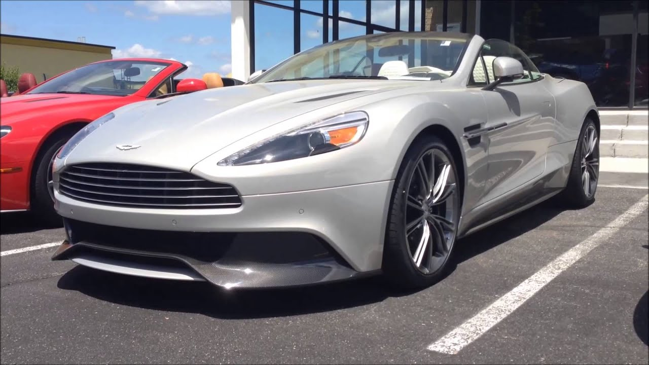 Exotic Cars At Aston Martin Washington DC YouTube - Aston martin washington dc