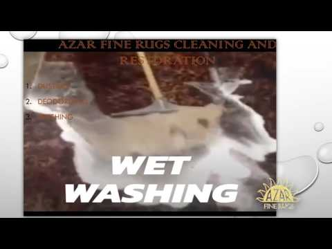 Azar fine rug, cleaning and restoration services