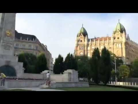 A tour of Budapest Hungary: Pest Part I #hyperlapse