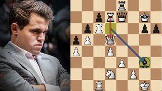 كارلسن يلعب شطرنج فوق مستوى البشر