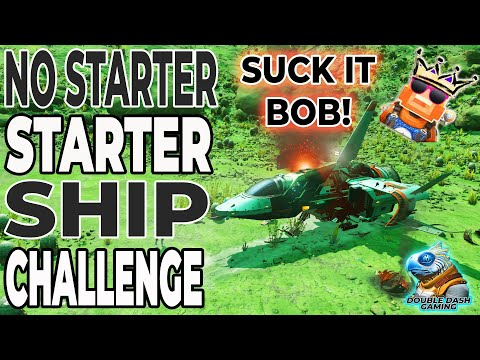 No Starter Ship Challenge by@SurvivalBob - New Record! | No Man's Sky Permadeath |