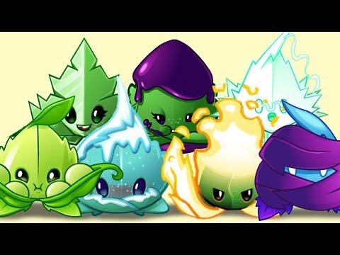 Plants Vs Zombies 2 Todas Las Mentas Vs Zombies Fuertes