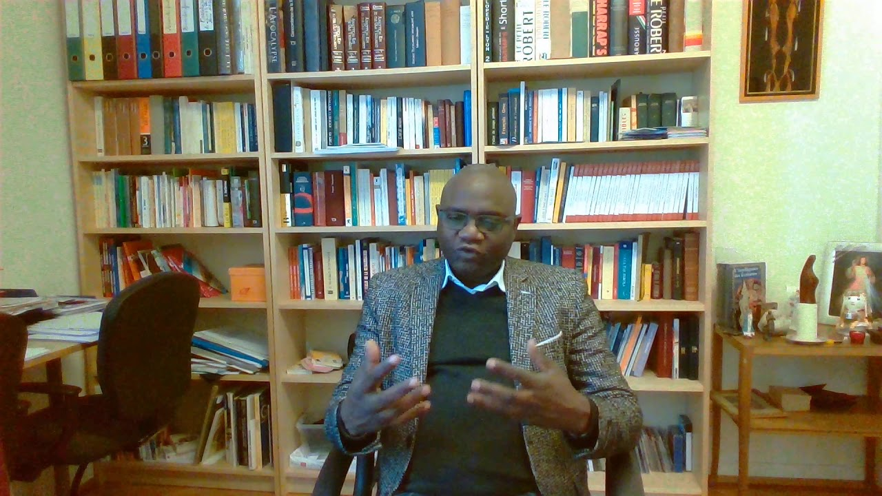 Catéchèse à distance, message de l'abbé Côme Traoré du 1er décembre 2020