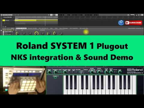 Roland SYSTEM 1 Plugout Tutorial FREE NKS & Sound (2017)