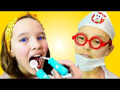 Dentist Song | Healthy Habits Nursery Rhymes & Kids Songs by Miss Emi