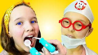Going To The Dentist Song   Emi Pretend Play Sing-Along to Nursery Rhymes Kids Songs