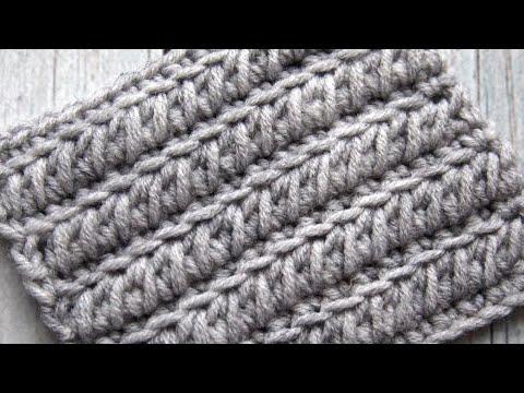 Узоры плотные для вязания крючком