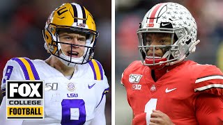 Which is the more complete football team: No. 1 LSU or No. 2 Ohio State? | CFB ON FOX