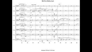 Beautiful Annabelle Lee for Trombone Octet - Arranged by Ryan Haines
