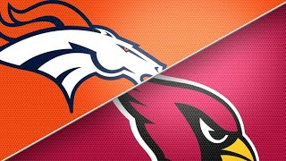 Broncos/Cardinals Live Play By Play Reaction