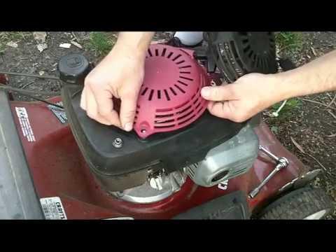 Lawn Mower Rope Pull Starter Fix Honda GVC160