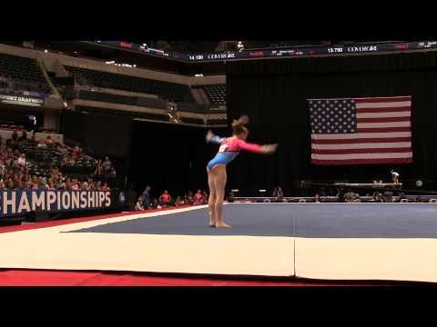 Sydney Johnson-Scharpf – Floor Exercise – 2015 P&G Championships – Jr. Women Day 1