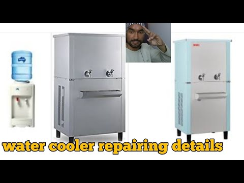 Water cooler repairing and compressor check video