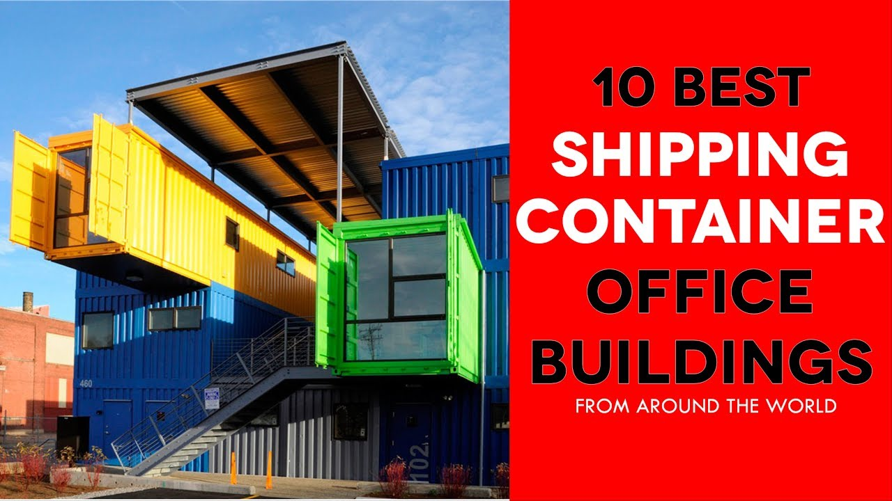 container office building. 10 Awesome Modern Shipping Container Office Buildings Around The World. Building I