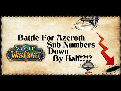 BFA Sub Counts Plummeting!?  What Does This Mean For Classic WoW!?